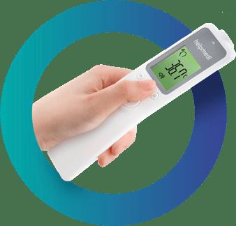 Termometr bezdotykowy - medyczny profesjonalny, dla noworodków iniemowląt