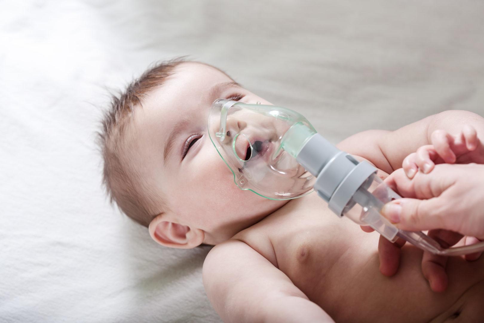 Inhalacja przy ząbkowaniu dziecka