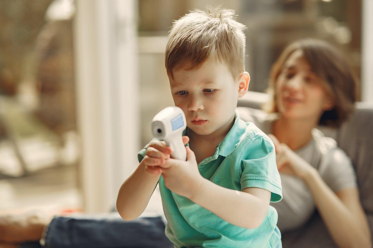 Termometr bezdotykowy dla dziecka - jaki wybrać?