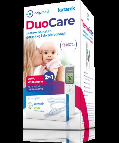 DuoCare zestaw na katar, gorączkę i do pielęgnacji